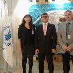Alessandra Palel e Michele Martinelli   Ambasciata Irak