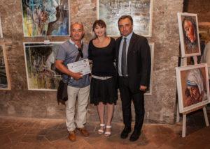 Lello Negozio, vincitore del premio dell'Enciclopedia- sezione pittura