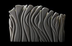 Memoria di foresta pietrificata, 2008, Marmo Statuario, cm 60x40x10