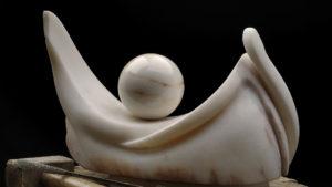 Venere, 1 lato, 2010, Rosa del Portogallo, cm 60x30x20